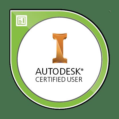 Autodesk Certified User Inventor Image
