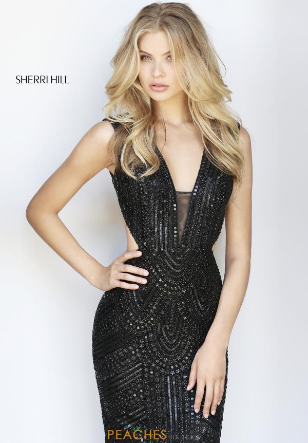 Sherri Hill Dress 51245  PeachesBoutiquecom