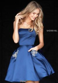 Sherri Hill Short Dress 51390 | PeachesBoutique.com
