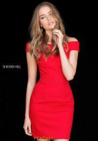 Sherri Hill Short Dress 51425 | PeachesBoutique.com