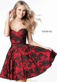 Sherri Hill Short Dress 51502 | PeachesBoutique.com