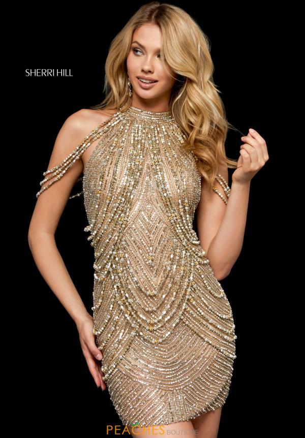 Sherri Hill Short Dress 52098  PeachesBoutiquecom