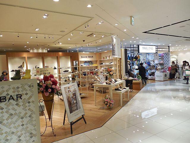 新南口につながる2階は幅広い集客が見込める雑貨店を拡充