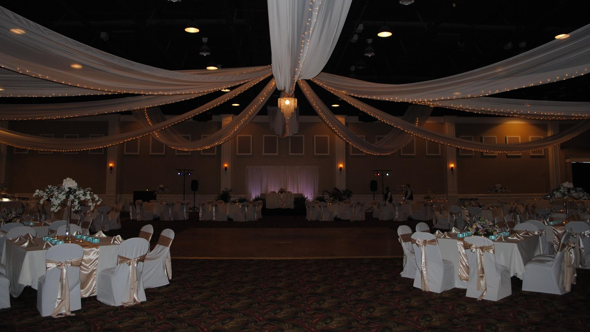 chair cover rentals florence sc white dining table chairs uk rent civic center corporate events wedding locations
