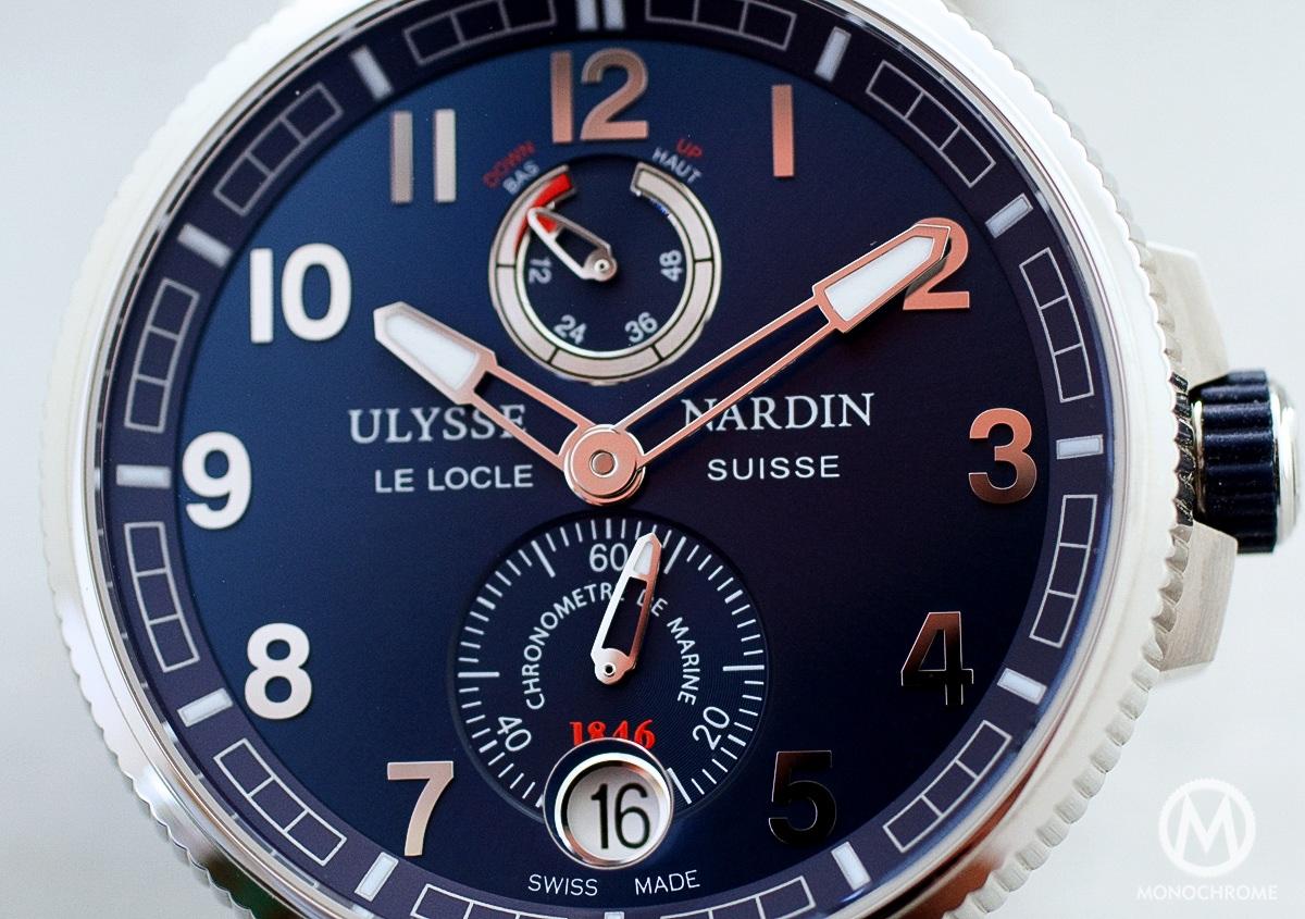 Ulysse Nardin Marine Chronometer Manufacture  REVIEW