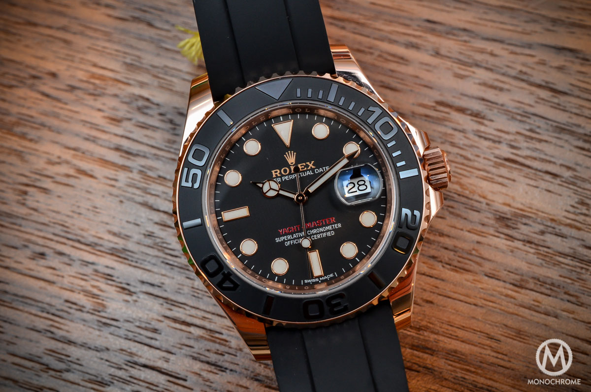 Hands On With The Rolex Yacht Master 116655 Everose Gold