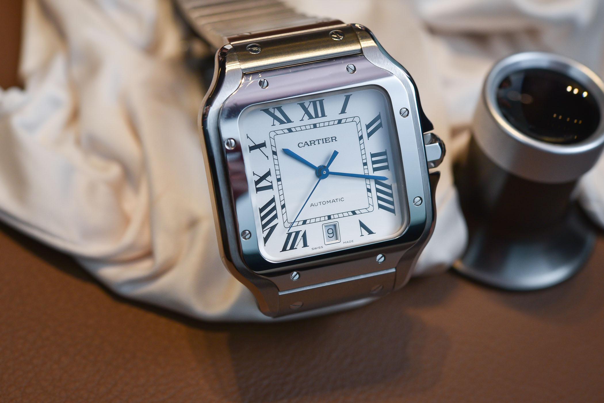 Neue Uhr Cartier Santos