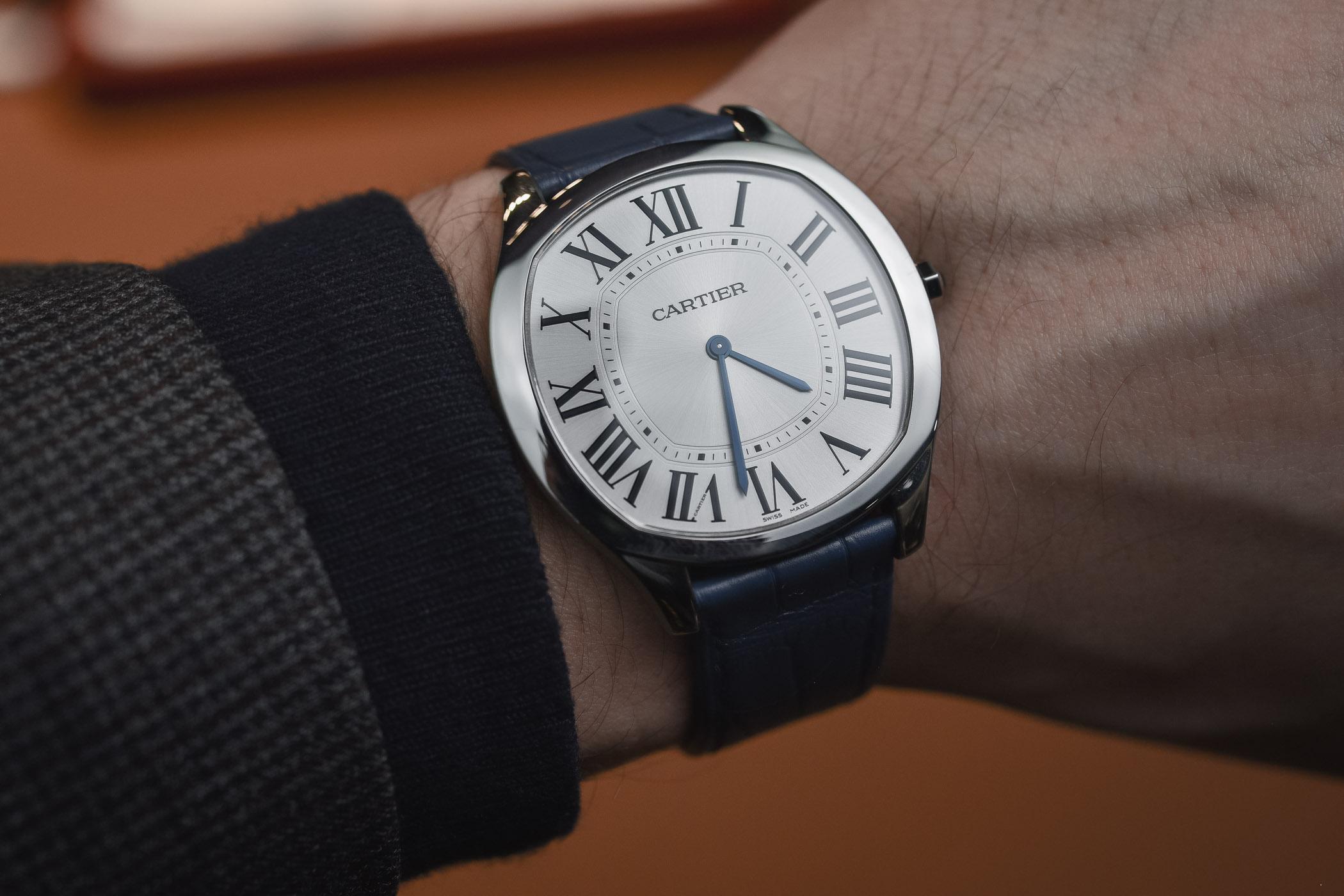 Neue Uhr Cartier Drive De Cartier Extra Flat