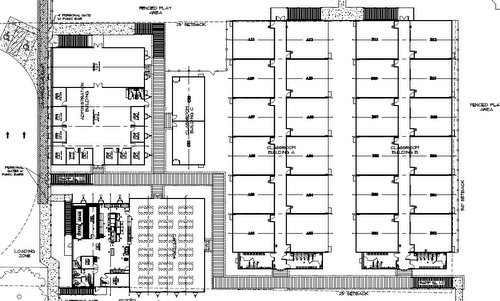 Site plan revealed for Audubon Charter's temporary campus