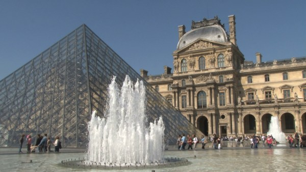 Fountain Louvre - Unlimited Free Stock