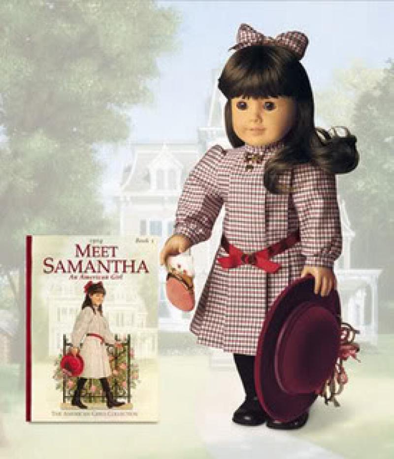 american girl doll samantha