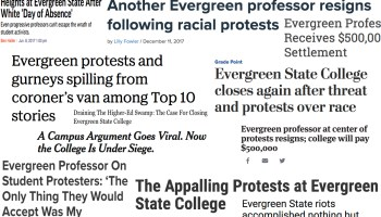 Evergreen State and the Battle for Modernity Part 2: True