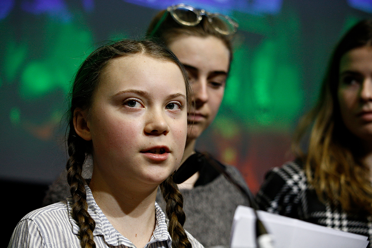 Self-Harm Versus The Greater Good Greta Thunberg And