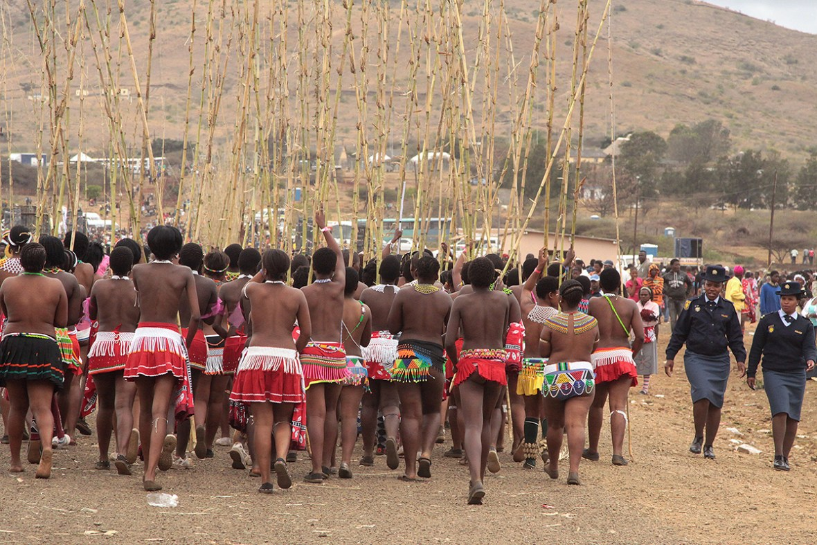 south africa - zulu reed dance ceremony | Flickr - Photo