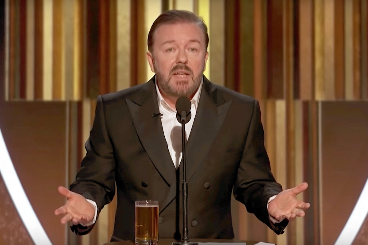 Ricky Gervais, Man of the People - Quillette