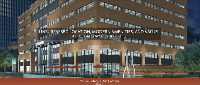 Website design for 3 City Center