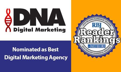 Nominated as Best Digital Marketing Agency in Rochester - DNA Digital Marketing