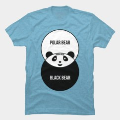 Panda Bear Diagram 2010 Club Car Precedent Battery Wiring Venn T Shirt By Offensivefun Design Humans