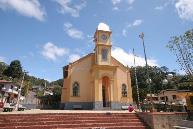 Igreja da Matriz em Santo Antônio do Pinhal - foto: Ana Paula Hirama