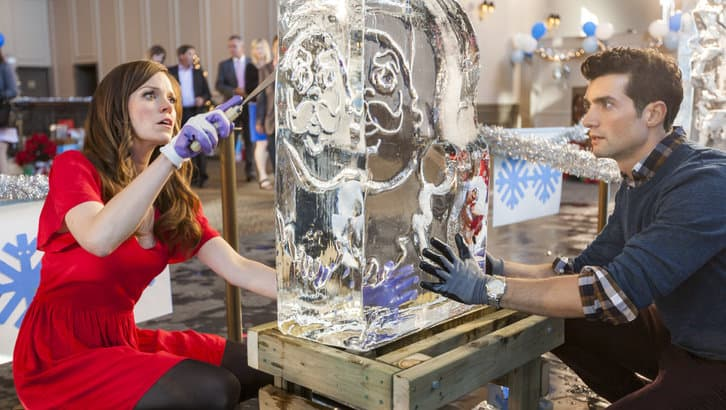 Girl Boss Wallpaper Ice Sculpture Christmas Scoop David Alpay Interview Seat42f