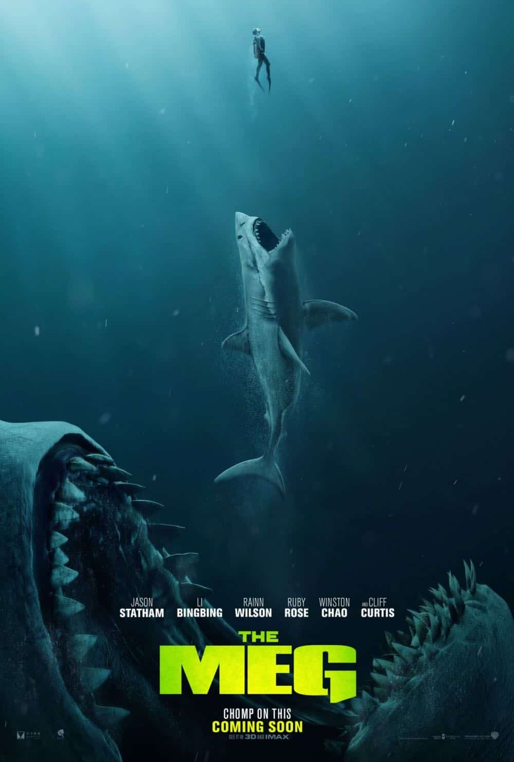 The Meg Movie Trailer + Poster   Seat42f