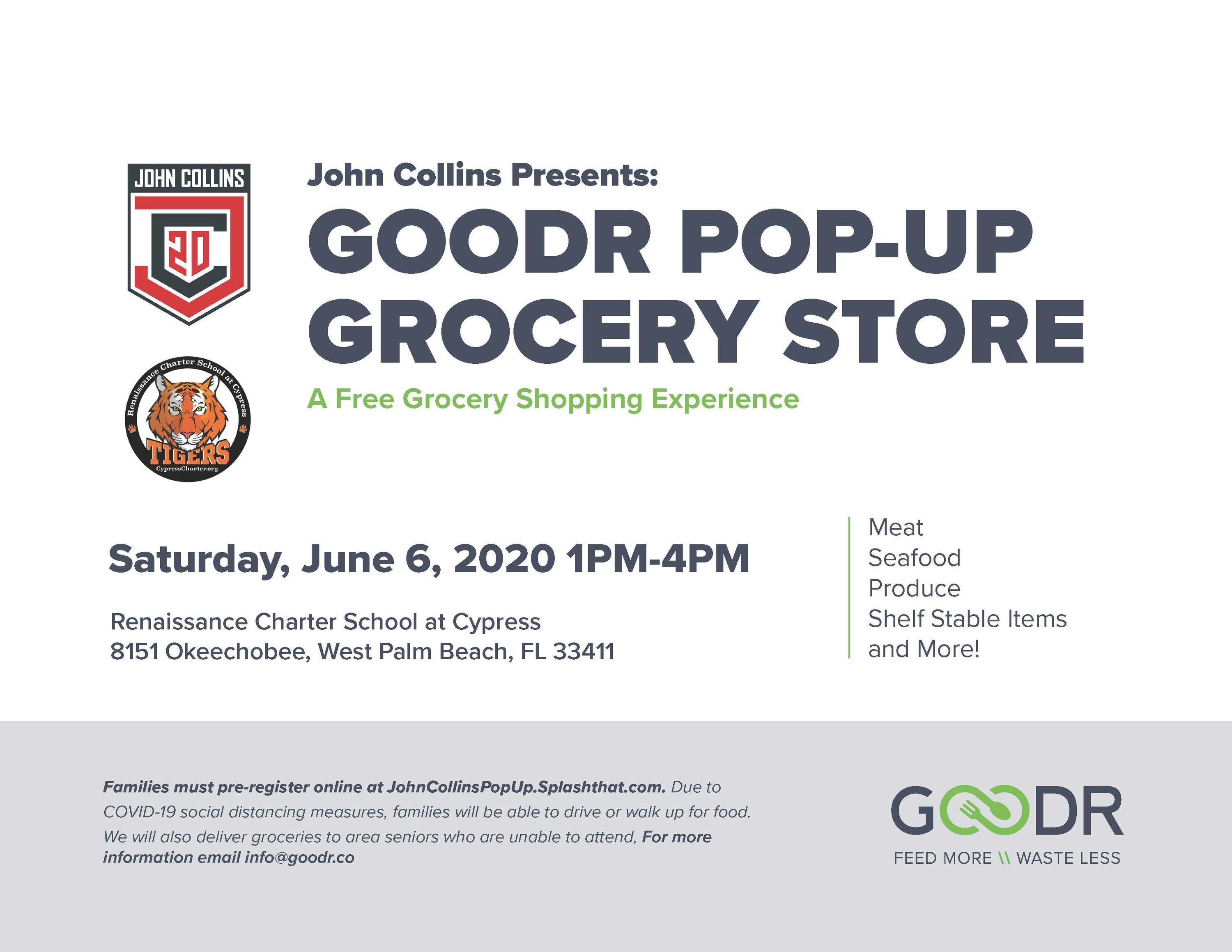 Goodr Pop Up Grocery Store Presented By John Collins