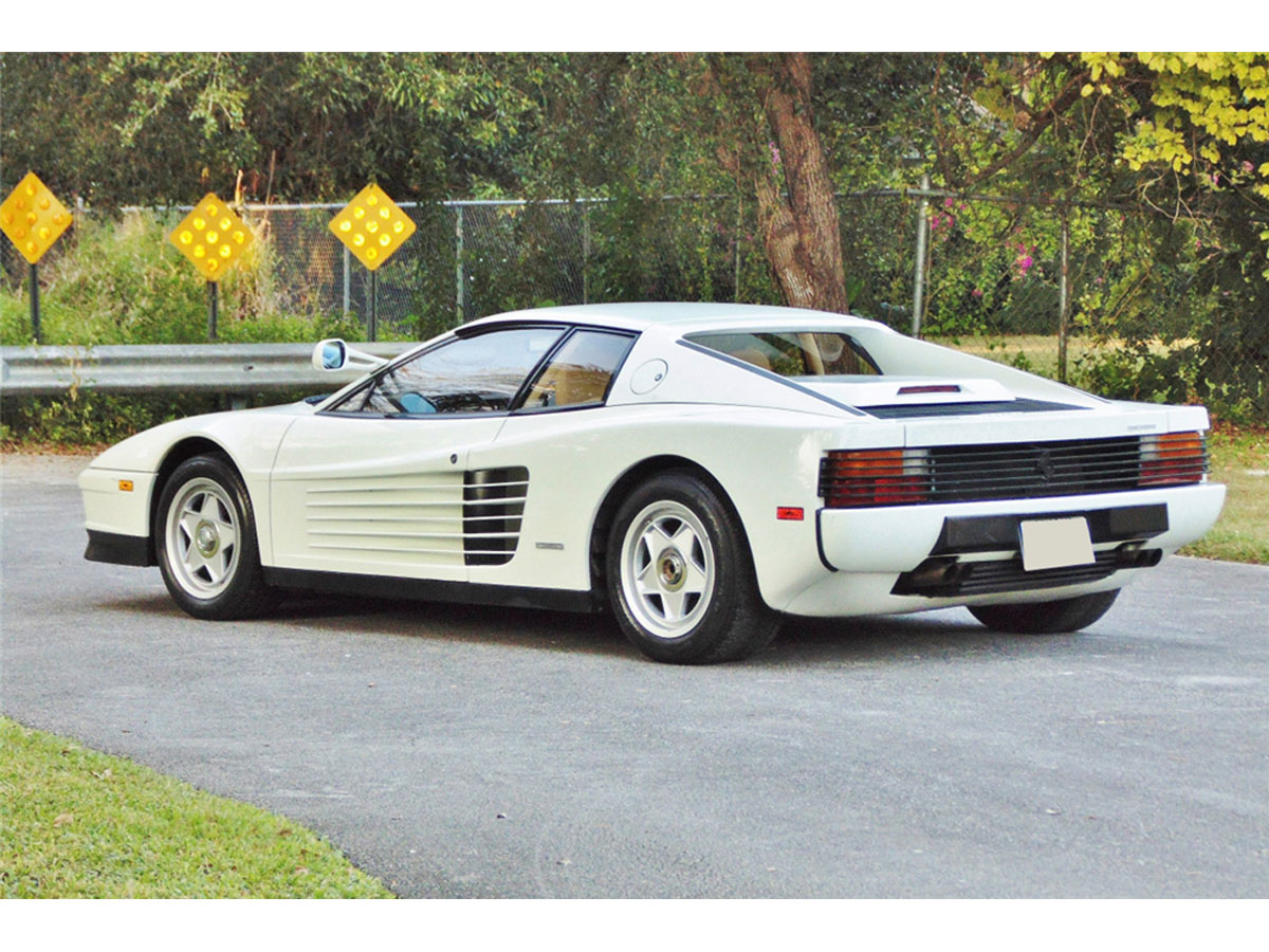 Ferrari Testarossa For Sale Cheap >> Sonny Crockett's 1986 Ferrari Testarossa From Miami Vice Is For Sale – Ramongentry