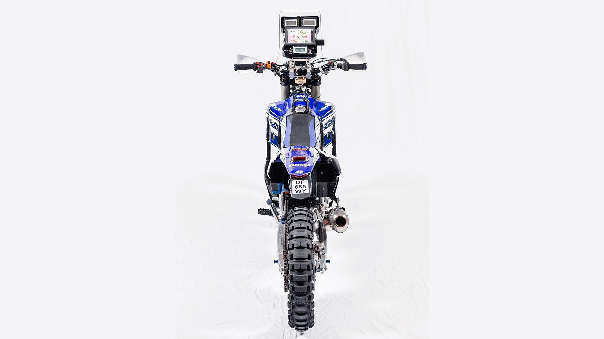 Yamaha Unleashes Wr450f Dakar Rally Weapon