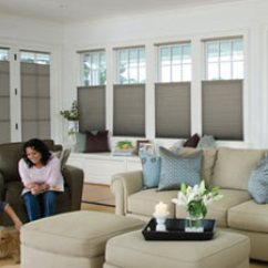 Blinds For Living Room Decorating Idea Shades 1 3 8 Inch Add Style And Function