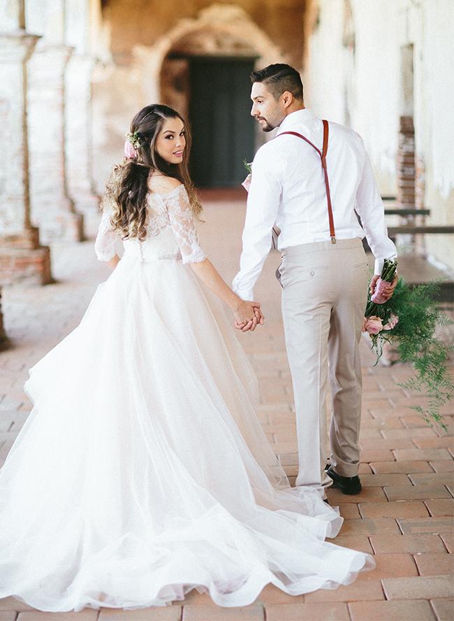 San Juan Capistrano Spanish Wedding Inspiration