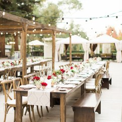 Cross Back Dining Chairs White Baby Chair Toys R Us Dreamy Outdoor Rehearsal Dinner - Inspired By This