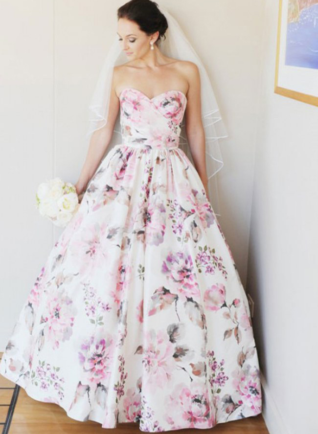 7 Alternative Wedding Dress Colors  Inspired By This