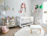 Plush Pink and White Nursery
