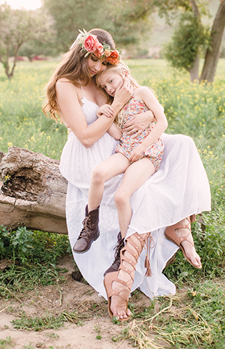 Boho Family Maternity Photos  Inspired By This