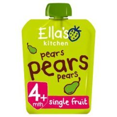 Ellas Kitchen Baby Food Ikea Kitchens Cost Ella S Organic First Tastes Pears