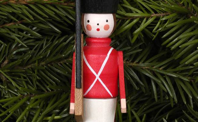 Tree Ornament Toy Soldier 2 4 8 5 Cm 1 3in By