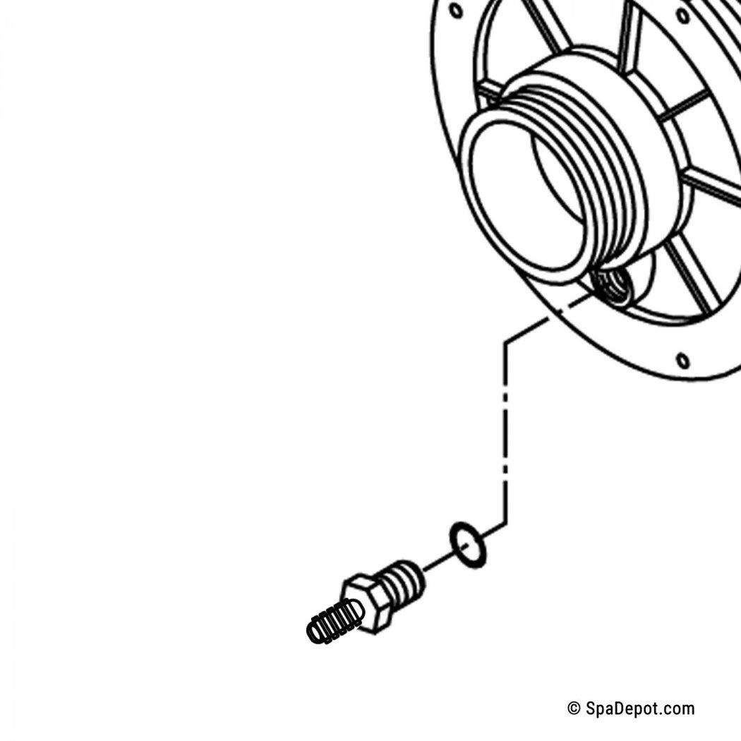 Hydromaster Freeze Plug Tubing Adapter