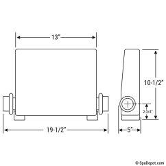How To Wire A Hot Tub Diagram Club Car Wiring Gas Balboa Vs Series Digital Control Kit W Spa Topside Keypad 1 Pump Circ Upgradable 2