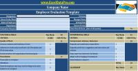 Download Employee Performance Evaluation Excel Template ...