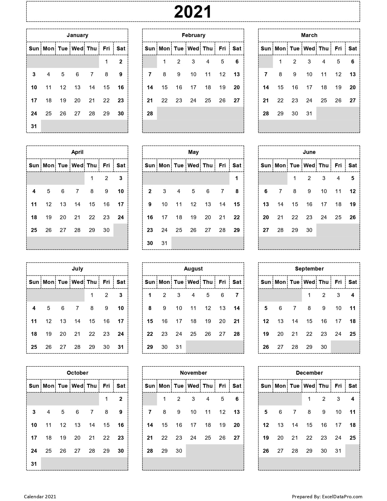 Browse our selection that includes wall calendars, desktop calendars and even wall stickers. Calendar 2021 Excel Templates, Printable PDFs & Images ...
