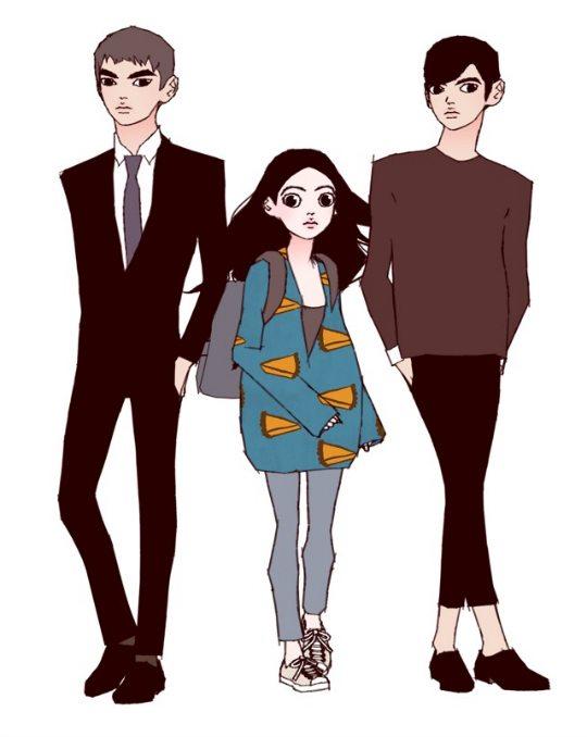 Image result for love alarm webtoon