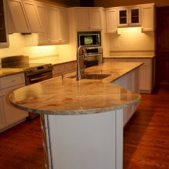 Wood And Stainless Steel Kitchen Island Black With Seating A Heavenly Reface Categorized Under Transitional ...