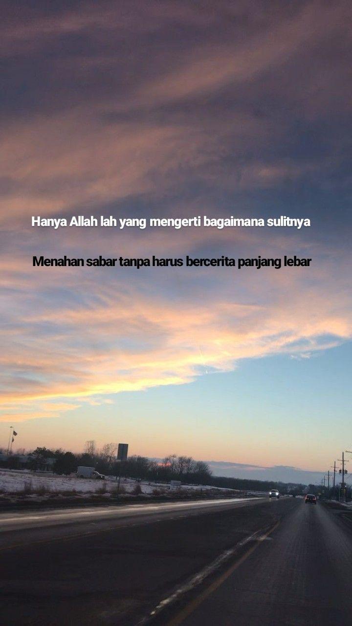 Hanya Allah Yang Tahu : hanya, allah, Hanya, Allah, Betapa, Sulitnya, Menahan, Kesabaran