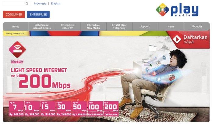 Perbandingan Paket Internet Tercepat dari Provider Internet Broadband di Indonesia