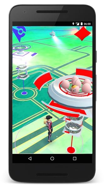 GYM Pokemon GO | Screenshot