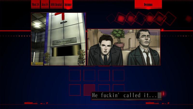 The Silver Case - Screenshot 2