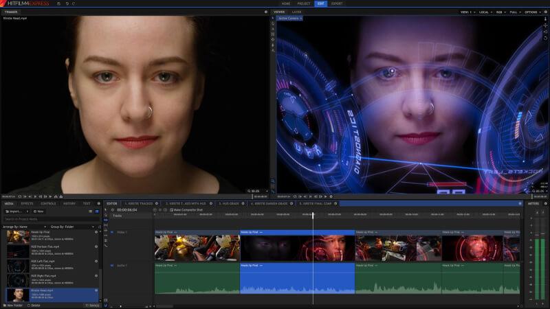 Aplikasi Produktivity Gratis | Hitfilm Express