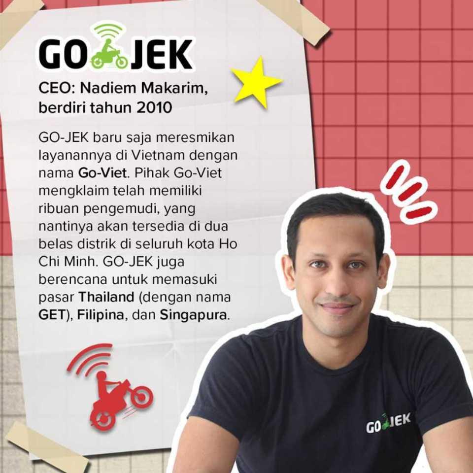 Startup Ekspansi GO-JEK