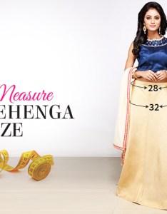 Measurement guide custom fit lehenga  choli also to get tailor made salwar kameez rh blog utsavfashion