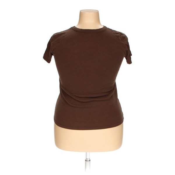 Brown Mossimo Supply . Basic Shirt In Size Xxl